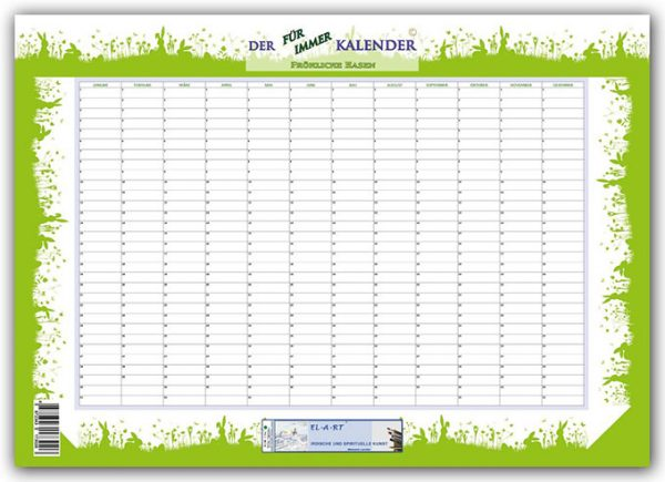 Kalender Motiv fröhliche Hasen