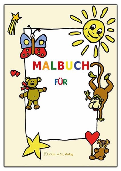 malbuch für kinder  64 seiten din a4 zum downloaden  ki