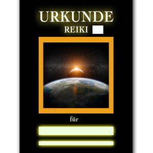 Reiki Urkunde 16