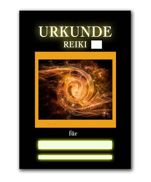 Reiki Urkunde 17