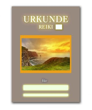 Reiki Urkunde 18
