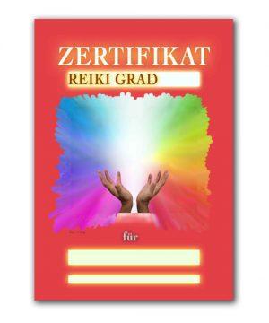 Reiki Urkunde 19