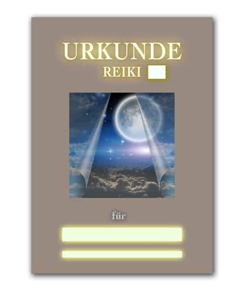 Reiki Urkunde 22