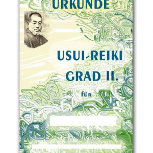 Reiki Urkunde 32