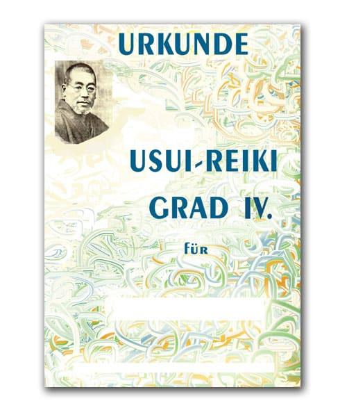Reiki Urkunde 34