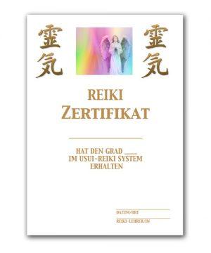 Reiki Urkunde 5
